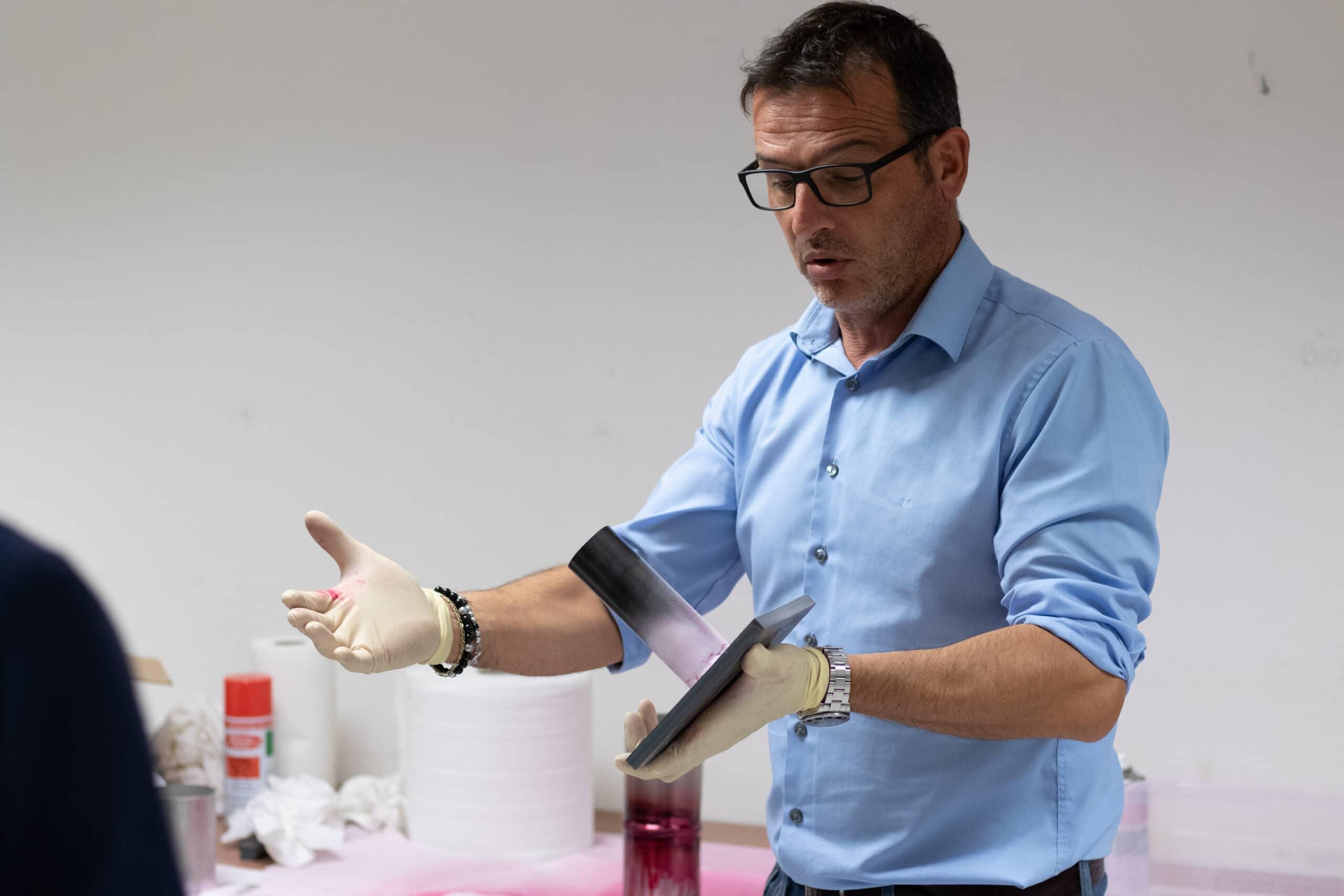 Mario Marziano - 3° Livello UNI EN ISO 9712 Metodo VT e PT